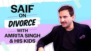 Saif Ali Khan on divorce with Amrita Singh, bond with Sara Ali Khan, Ibrahim, Taimur & paparazzi