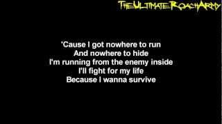 Papa Roach - The Enemy {Lyrics on screen} High Quality Mp3