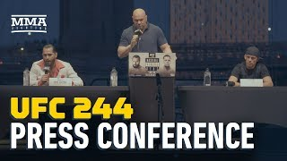 UFC 244 Press Conference: Jorge Masvidal vs. Nate Diaz - MMA Fighting