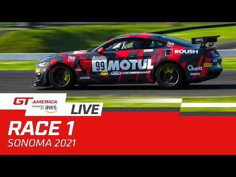 ブランパンGTワールドチャレンジ・アメリカ(ソノマ)GT レース1 無料ライブ配信動画