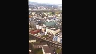 Sletanja avionom Beograd Zurich