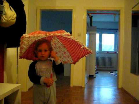 Seht mal meinen Regenschirm... Tropf tropf tropf!