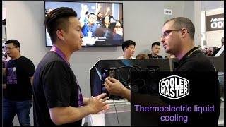 Cooler Master introducing Thermal electric liquid Cooling AIO