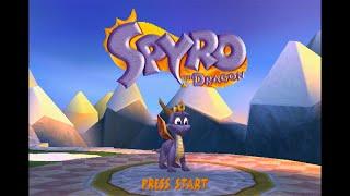 Spyro the Dragon - Complete 120% Walkthrough - All Dragons, All Gems, All Eggs (Longplay)