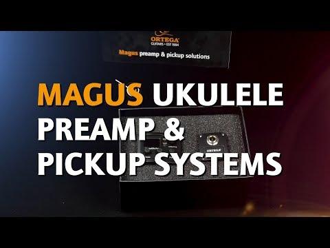 ORTEGA GUITARS | MAGUSUKE UKULELE PREAMP & PICKUP SYSTEMS