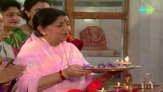 Ganpati Aarti - Sukhkarta Dukhharta - Lata Mangeshkar - Devotional Song - Marathi Song