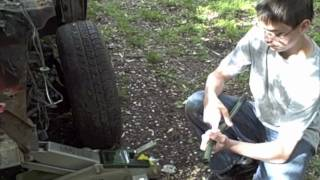 Mustang Project - Part 4 - Front Brakes and Shocks