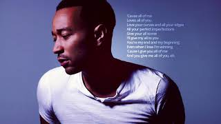 John Legend   All Of Me 1 Hour