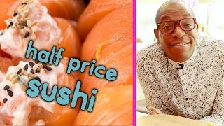 How To Get Half-Price Sushi Every Day at Itsu - Quick Life Hack