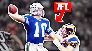 Tallest Players In NFL History