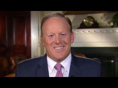 Spicer: I want Scaramucci and Sanders to have fresh start