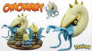 OMONAUT, La Evolución De Omastar | Pokemon Fan-Made | Tutorial En Porcelana Fría
