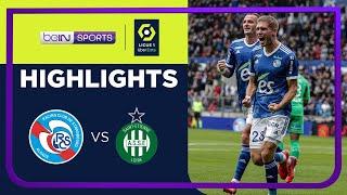 Strasbourg 5-1 Saint-Etienne Pekan 10