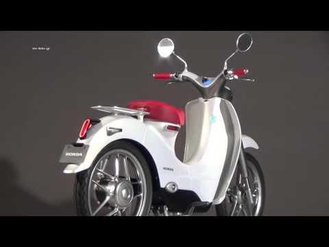 Chi tiết xe máy điện Honda EV-cub