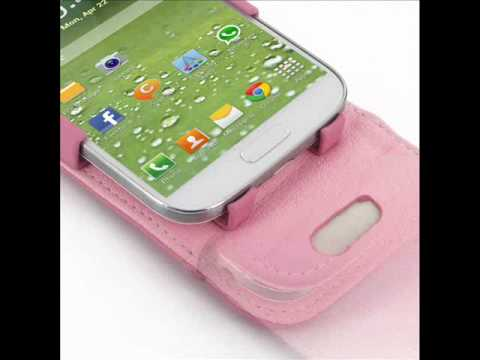 PDair Leather Case for Samsung Galaxy S4 SIV LTE GT-i9500 GT-i9505 - Flip Top Type (Petal Pink)