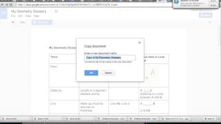 How to Copy and Rename a Google Doc