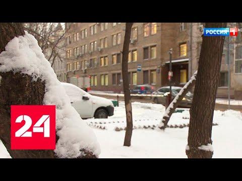 В столице выпал долгожданный снег - Россия 24