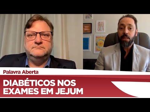 Paulo Bengtson defende prioridade para diabéticos em exames de jejum - 18/06/21