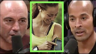 Joe Rogan & David Goggins   Listening To Music While Working Out Is Cheating