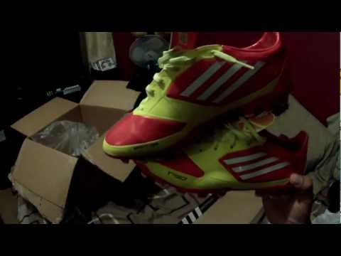 adidas F30 TRX AG Turf Soccer Shoes unboxing