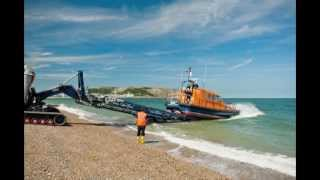 Hoylake mechanic talks about Shannon class lifeboat