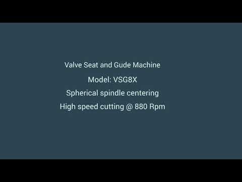 VSG8X Valve Seat Cutting Machine