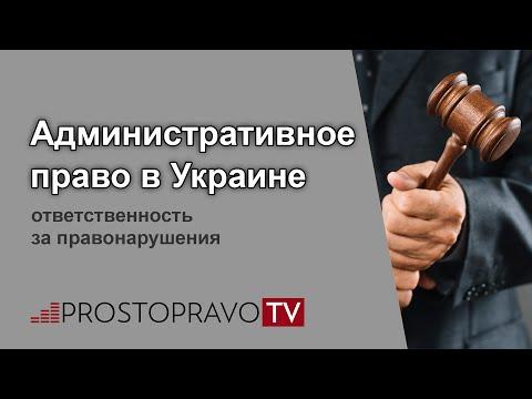 Административное право 2020 в Украине: ответственность за правонарушения