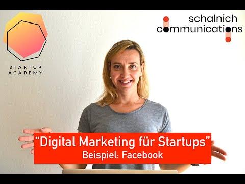 Digital Marketing für Startups - Facebook