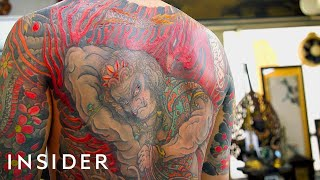 73-Year-Old Tattoo Artist Is A Legend In Japan