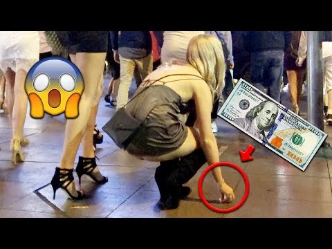 $100 Honesty Social Experiment In Las Vegas!!!