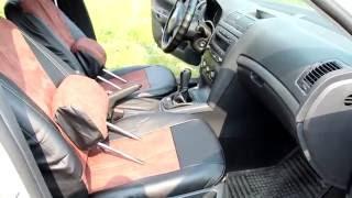 Чехлы для автомобиля из Китая( КОРОНА МЕХ). Часть 3 Примерка чехлов из экокожи.