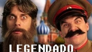 Rasputin vs Stalin - LEGENDADO - Epic Rap Battles of History Season 2 finale (FINAL DA TEMPORADA)