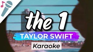 Taylor Swift – the 1 - Karaoke Instrumental (Acoustic)