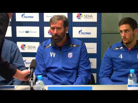 PPD Zagreb - Vardar Post-Match Press conference