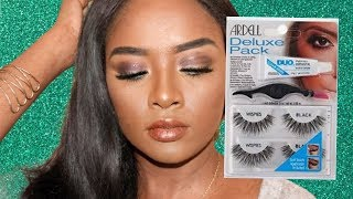 #ardelllashes #review and how to apply lashes for beginners