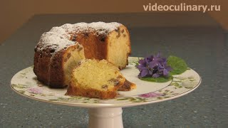 Кексы, Рецепт - Рассыпчатый кекс от http://videoculinary.ru