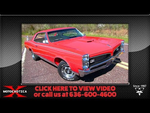 Video of '67 GTO - PWHS