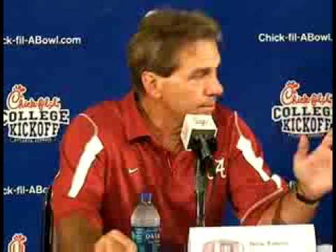 Nick Saban's Clemson Post Game Press Conference