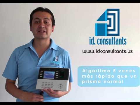 EQUIPO BIOMETRICO ZK TECO Iclock990+ID, ID CONSULTANTS