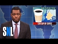 Weekend Update on a $18 Cup of Coffee - SNL