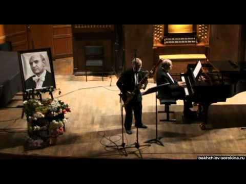 Torriani — Divertismento for bassoon and piano (V. Popov, R. Ostrovsky)