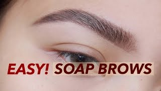 BIKIN ALIS PAKAI SABUN | NATURAL BROWS TUTORIAL