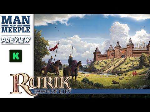 Rurik: Dawn of Kiev Preview by Man Vs Meeple
