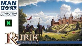 Rurik: Dawn of Kiev Preview by Man Vs Meeple (PieceKeeper Games)