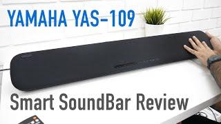 Yamaha YAS 109 Smart SoundBar with Built in Subwoofer