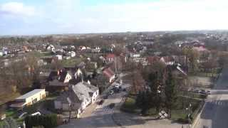 preview picture of video 'Sejny - panorama miasta'