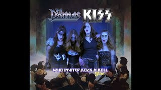 The Donnas vs. KISS - Who Invited Rock And Roll (YITT mashup)