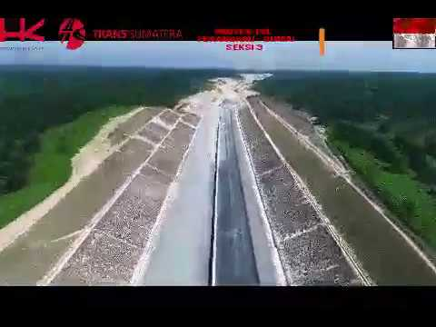 Kondisi Terkini Pembangunan Jalan Tol Pekanbaru Dumai Seksi III