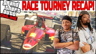 Dirty Racing Left & Right! So Much Animosity In This Tournament! (GTA 5)