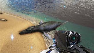 ARK: Survival Evolved Online #15 - Cưỡi thủy quái Liopleurodon khám phá đại dương =))